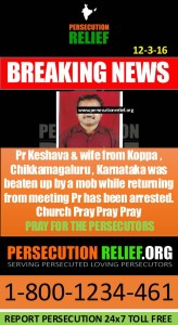 Pastor KEshava and wife