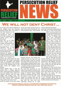 We will not deny Christ'